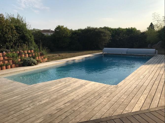 superbe piscine au nord de Toulouse