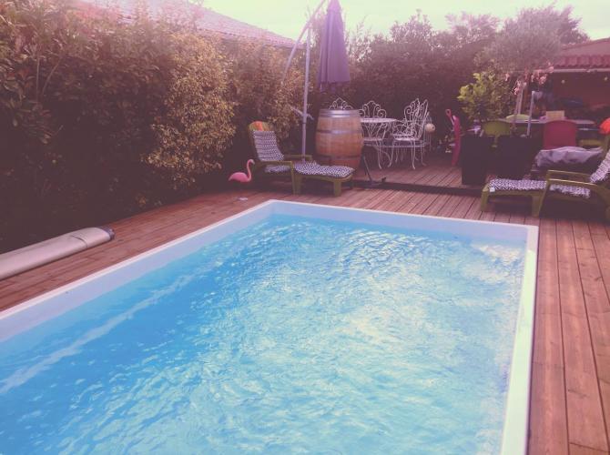 Agréable piscine au coeur de Léguevin 3