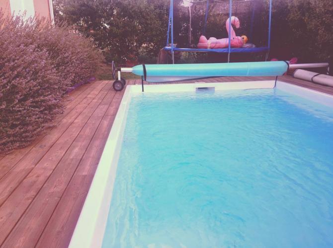 Agréable piscine au coeur de Léguevin 1