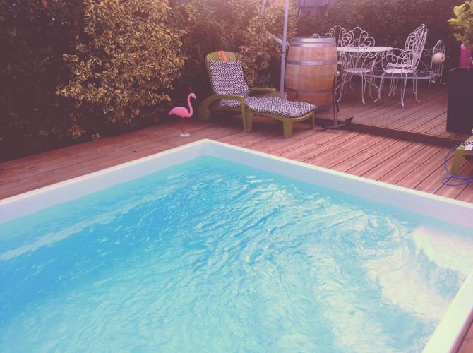 Agréable piscine au coeur de Léguevin 2