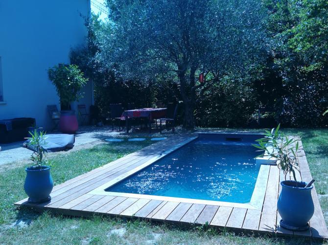 Location piscine, barbecue, Toulouse, wifi