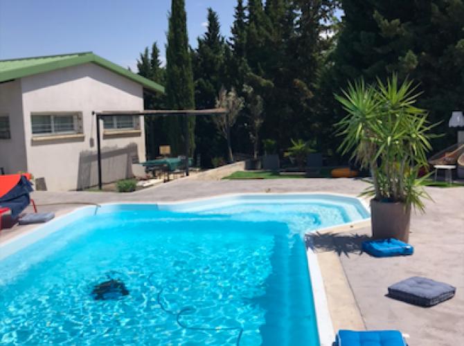 jolie piscine à 10min de Carcassonne