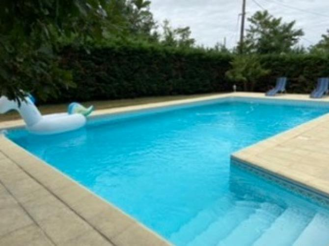Grande piscine-Plancha 15 mins de Montauban