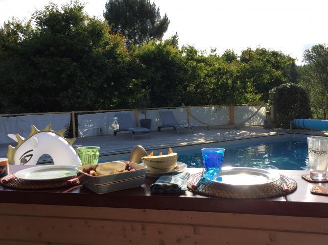 piscine plein soleil