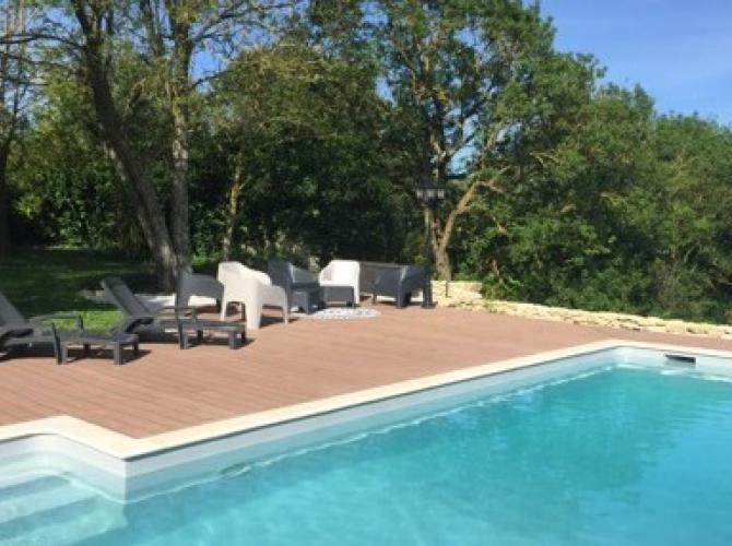 Belle piscine à 20min de Toulouse