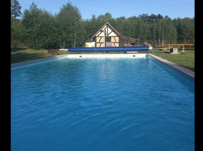 Belle piscine chauffée au cœur de Sologne