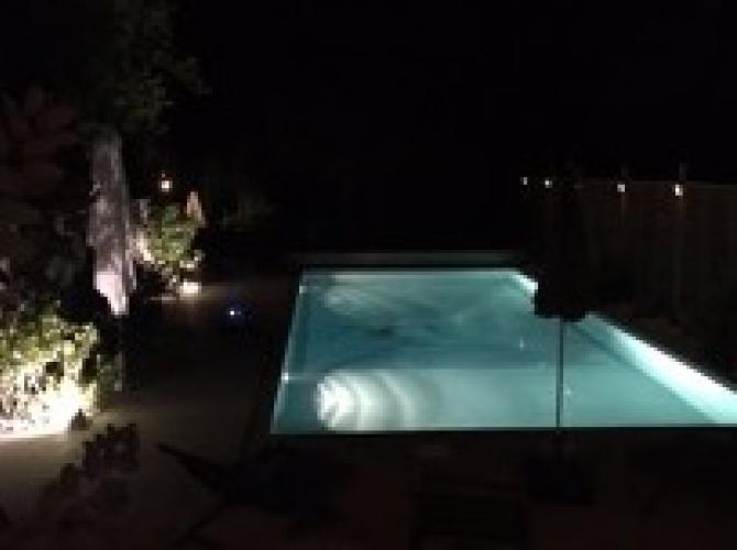 Location d'une piscine privéee et chauffée à 1h de Paris (Levainville)