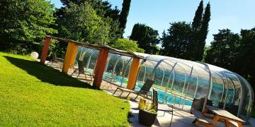 ❤️ RARE : une piscine splendide couverte pour vous ❤️