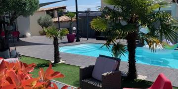Belle piscine à 20min de Montpellier